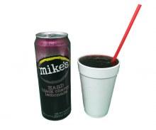 Mike's Hard Black Cherry Lemonade 16oz Slushie