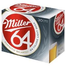 Miller 64 30pk 12oz Cans