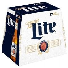 Miller Lite 12pk 12oz Bottles