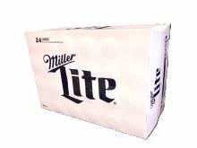 Miller Lite 24pk 16oz Aluminum Bottles