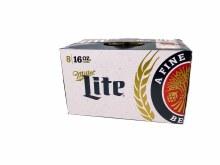 Miller Lite 8pk 16oz Cans