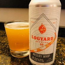 Logyard Misery Whip 2X IPA 16oz Can
