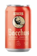Bacchus Kriekenbier Nitro Sour Cherry Beer 4pk 10oz Cans