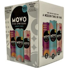 Movo Wine Spritzer Variety 4pk 8.4oz Cans
