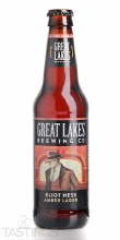 Great Lakes Eliot Ness Amber Lager 12oz Bottle