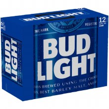 Bud Light 12pk 12oz Cans