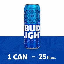 Bud Light 25oz Can