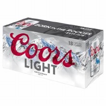 Coors Light 18pk 12oz Cans
