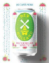 New Holland Watermelon Spritz Ale with Watermelon and Seltzer 6pk 12oz Cans