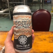 North Country Psychadelic Nightmare Wheatwine Style Ale 4pk 16oz Cans
