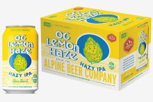 Alpine OG Lemon Haze Hazy IPA 6pk 12oz Cans