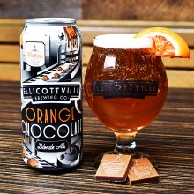 Ellicottville Orange Chocolate Blonde Ale 4pk 16oz Cans