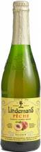 Lindemans Peche Peach Lambic Beer 25.4oz Bottle
