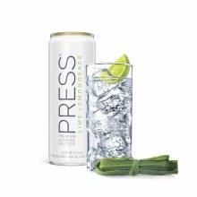 Press Lime Lemongrass Seltzer 6pk 12oz Cans
