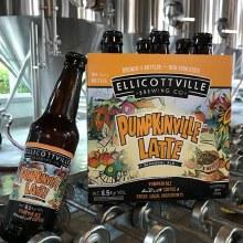 Ellicottville Pumpkinville Latte Seasonal Ale 6pk 12oz Bottles