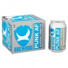 Brewdog Punk AF Non Alcoholic 4pk 12oz Cans