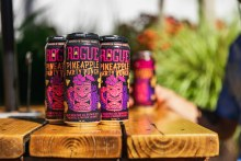 Rogue Pineapple Party Punch Hazy IPA 4pk 16oz Cans