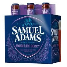 Sam Adams Mountain Berry 6pk 12oz Bottles