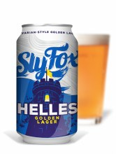 Sly Fox Helles Golden Lager 12oz Can
