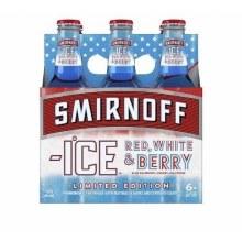 Smirnoff Ice Red White & Berry 6pk 11.2oz Bottles