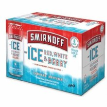 Smirnoff Red White & Berry 8pk 16oz Cans