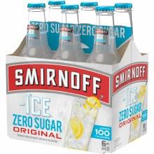 Smirnoff Ice Zero Sugar 6pk 11.2oz Bottles