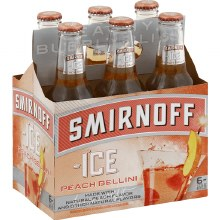 Smirnoff Peach Bellini 6pk 11.2oz Bottles