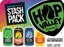 Hop Valley Cryo Hops Stash Variety IPA Pack 12pk 12oz Cans