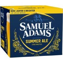 Sam Adams Summer Citrus Wheat Ale 12pk 12oz Bottles