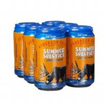 Anderson Valley Summer Solstice Seasonal Ale 6pk 12oz Cans