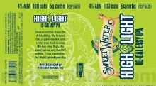 Sweet Water High Light Lo Cal Easy IPA 15pk 12oz Cans