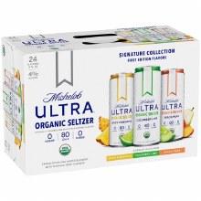 Michelob Ultra Organic Seltzer Variety 24pk 12oz Cans