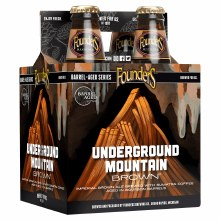 Founders Underground Mountain Imperial Brown Ale 4pk 12oz Bottles