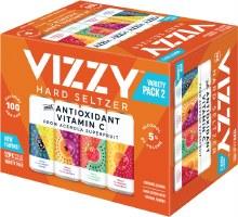 Vizzy Hard Seltzer 2 Variety 12pk 12oz Cans