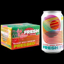 Wicked Weed Fresh Pressed Wheat Ale 6pk 12oz Cans