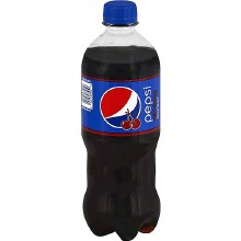 Wild Cherry Pepsi 20oz Plastic Bottles