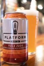 Platform Yule Jude Hazy IPA 6pk 12oz Cans