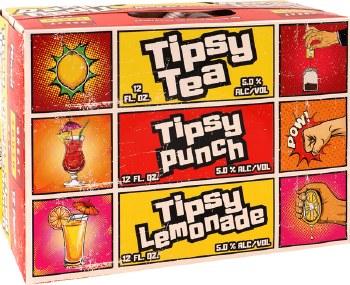 Great South Bay Tipsy Tea Variety 12pk 12oz Cans