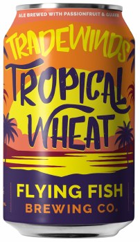 Flying Fish Tradewinds Tropical Wheat 12oz Can