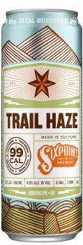 Sixpoint Hazy Adventure IPA 6pk 12oz Cans