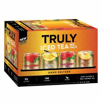 Truly Iced Tea Variety 12pk 12oz Cans