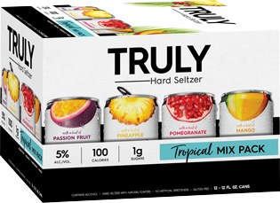 Truly Tropical Hard Seltzer Variety 12pk 12oz Cans