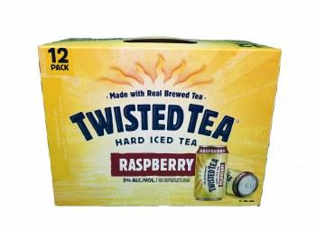 Twisted Tea Raspberry 12pk 12oz Cans