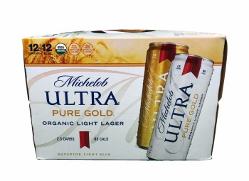 Michelob Ultra Pure Gold 12pk 12oz Cans