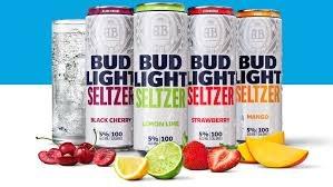 Bud Light Seltzer Black Cherry 25oz Can