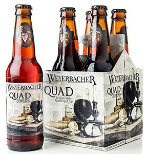 Weyerbacher Quad Belgian Style Quadruple Ale 4pk 12oz Bottles