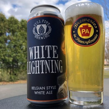 Full Pint White Lightning 4pk 16oz Cans