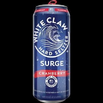 White Claw Surge Cranberry Hard Seltzer 16oz Can