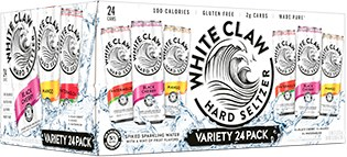 White Claw Variety 24pk 12oz Cans