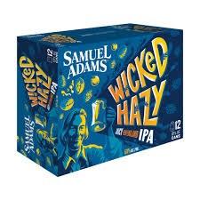 Sam Adams Wicked Hazy Juicy New England IPA 12pk 12oz Cans